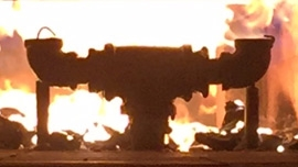 Polymer Fire Science testing